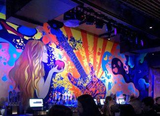bar mural at the Fillmore Minneapolis music hall
