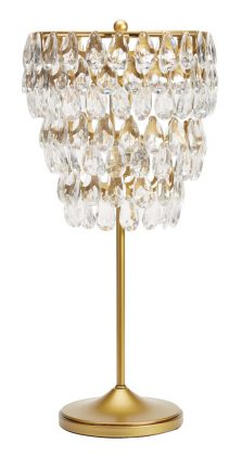 Crystal Teardrop Lamp