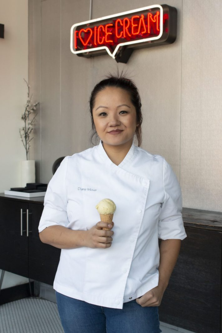 Pastry chef Diane Moua helped develop a flavor inspired by her Hmong heritage