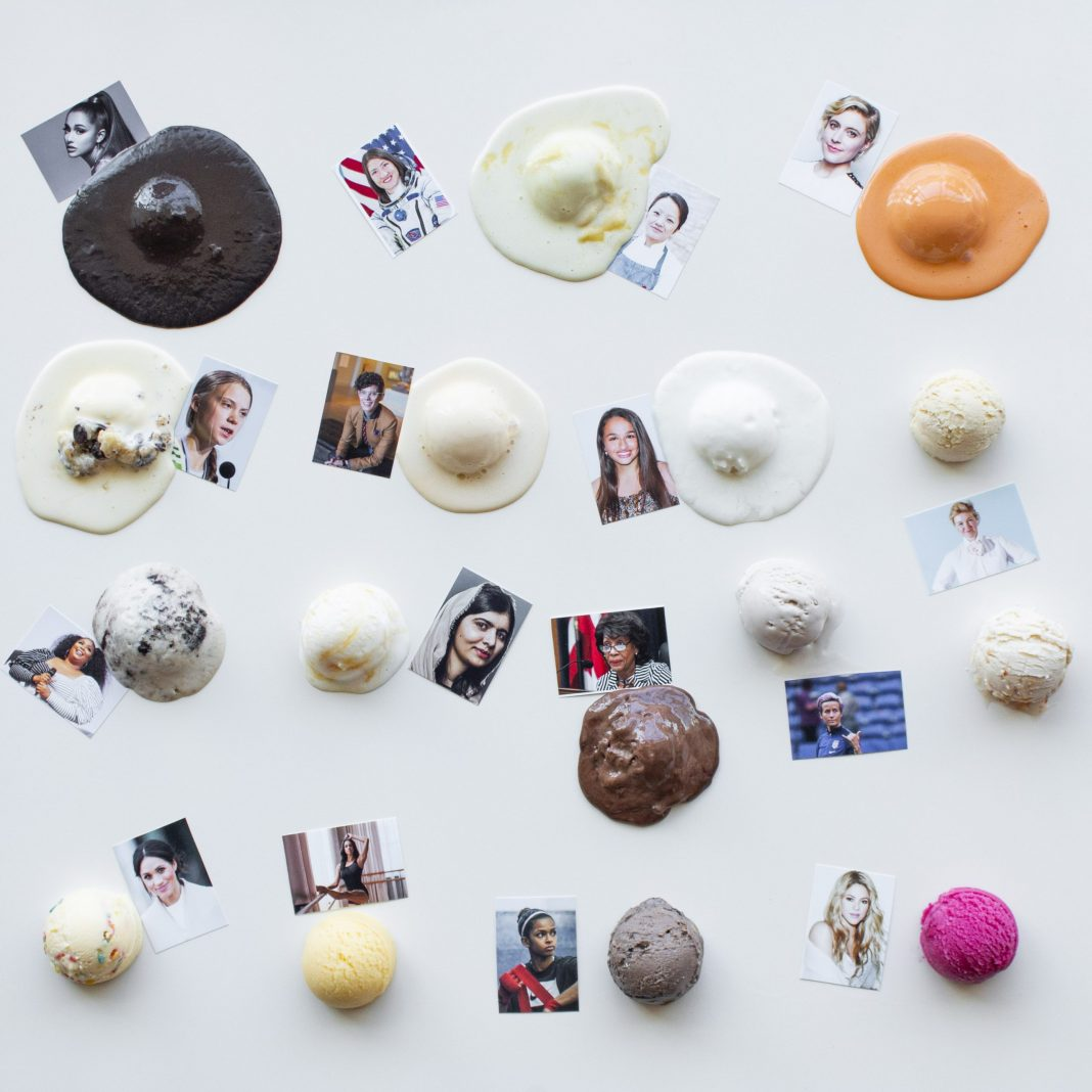 Milkjam Creamery is again naming their flavors after fabulous women for Women's History Month