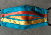 Maggie Thompson's Ribbon Mask