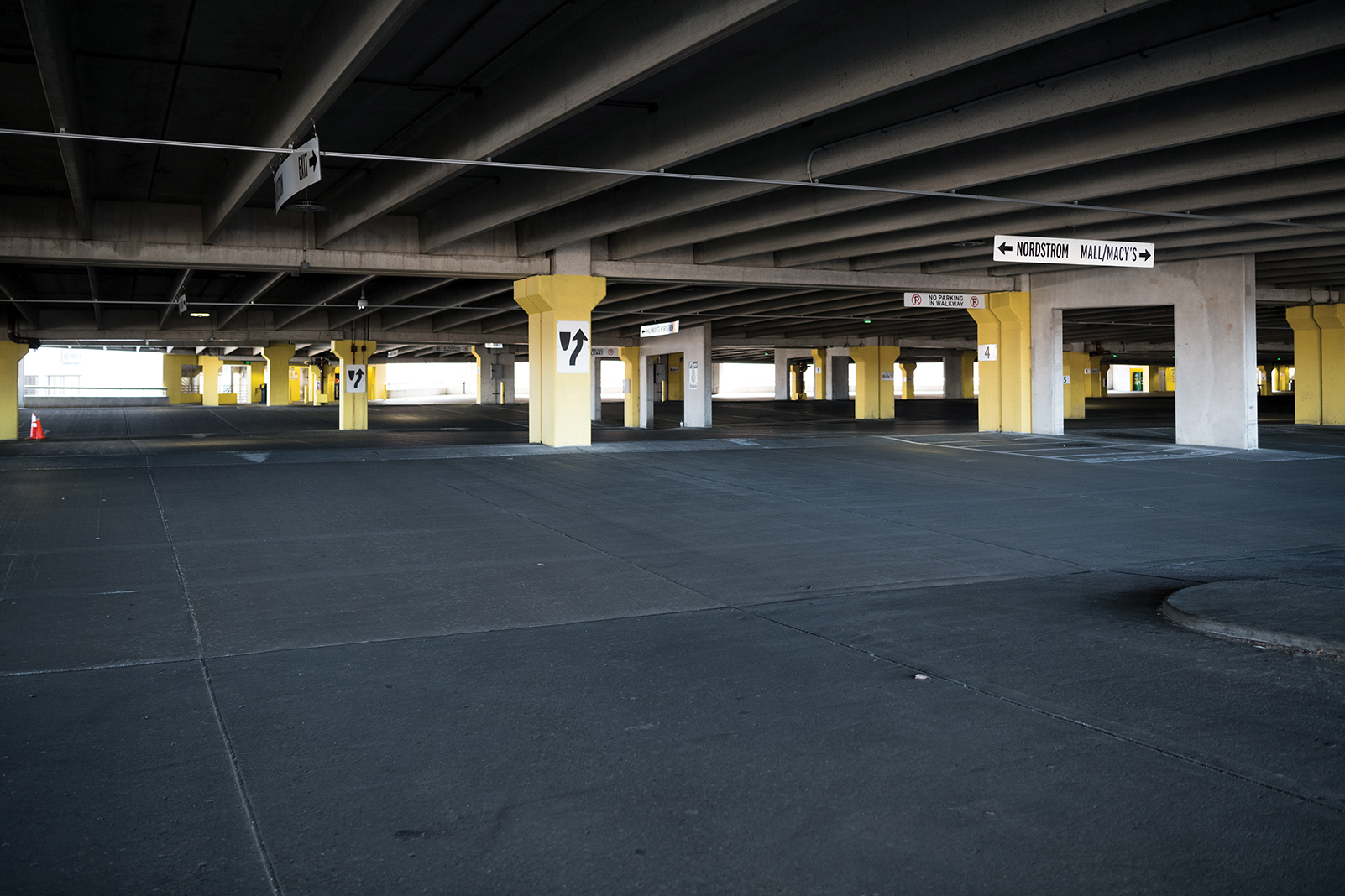 Mall of America's parking ramps are empty