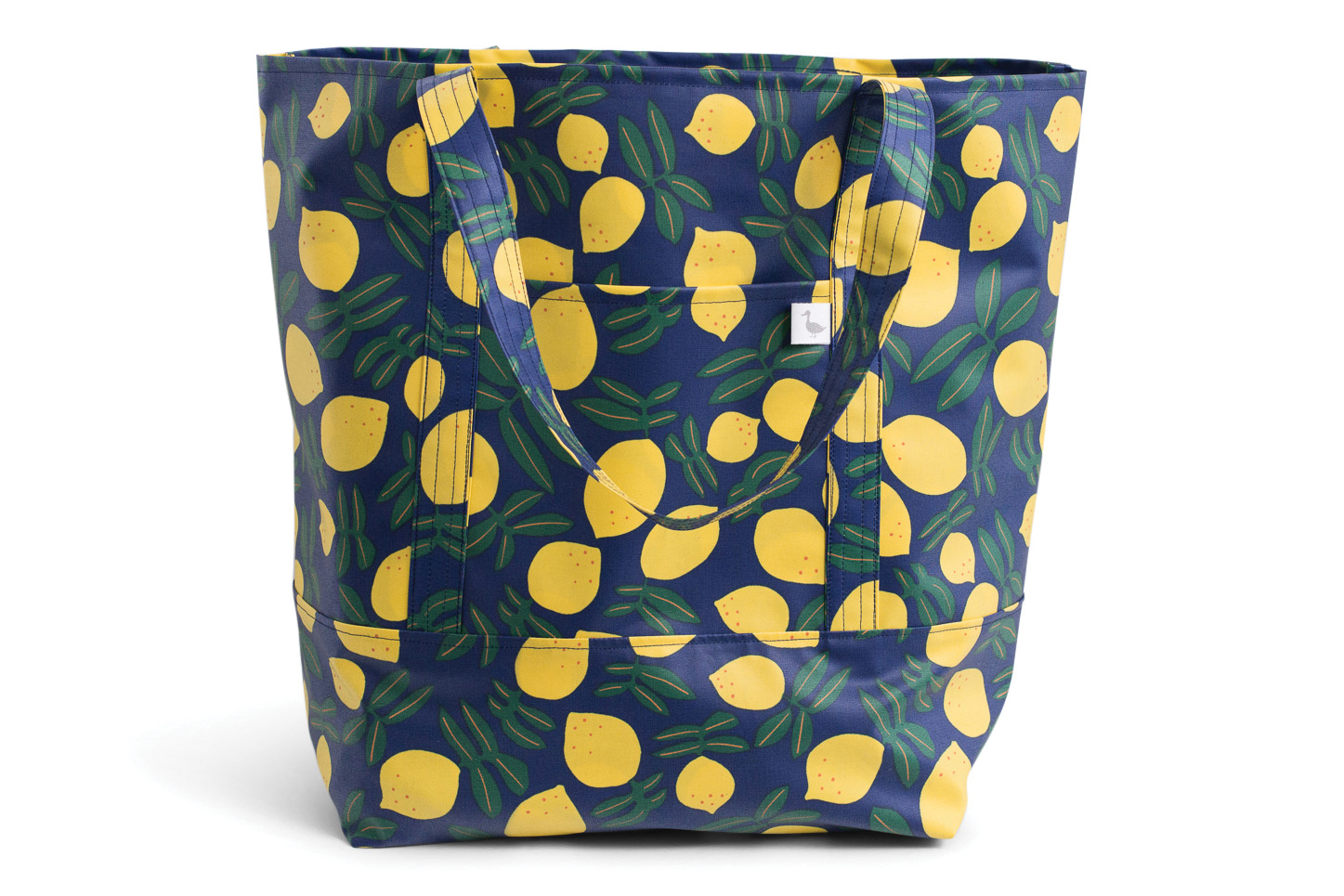 Lemons Market Tote, by Grey Duck Bag Co.