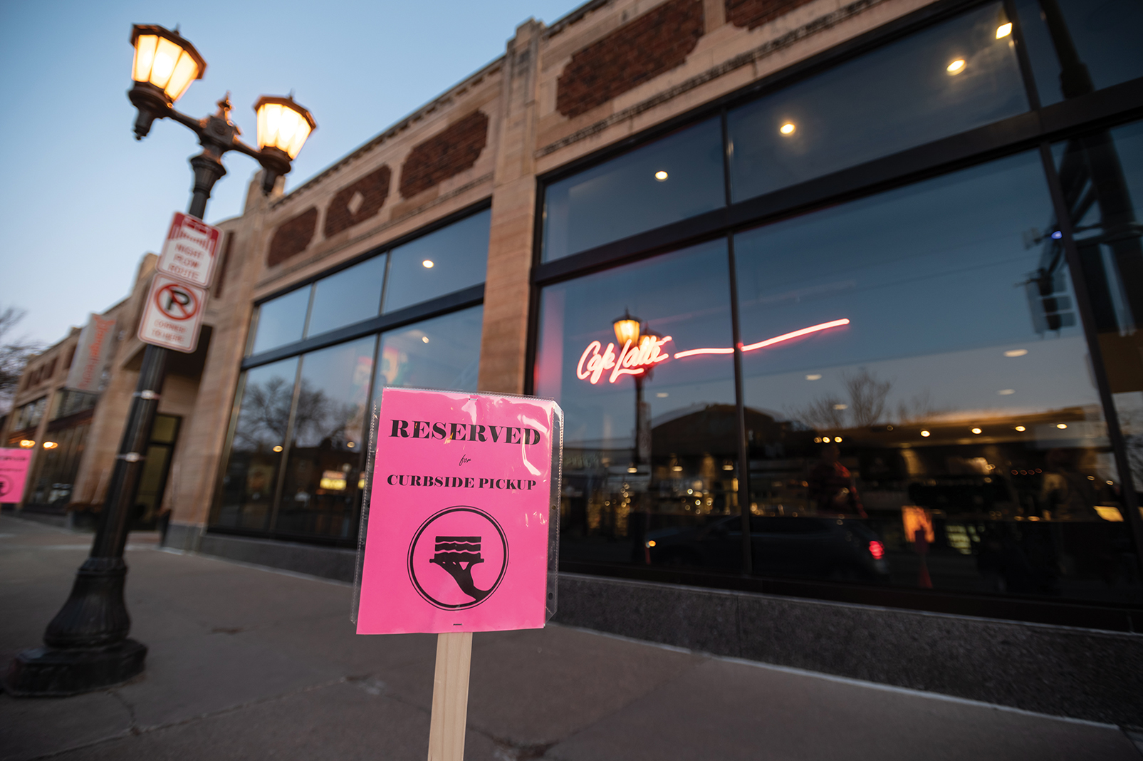Local favorites like Cafe Latte in St. Paul have adopted curbside takeout service
