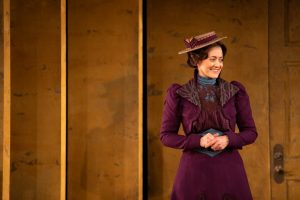 """Christina Baldwin as Nora in the Jungle's 2020 production of """"A Doll's House, Part 2"""""""