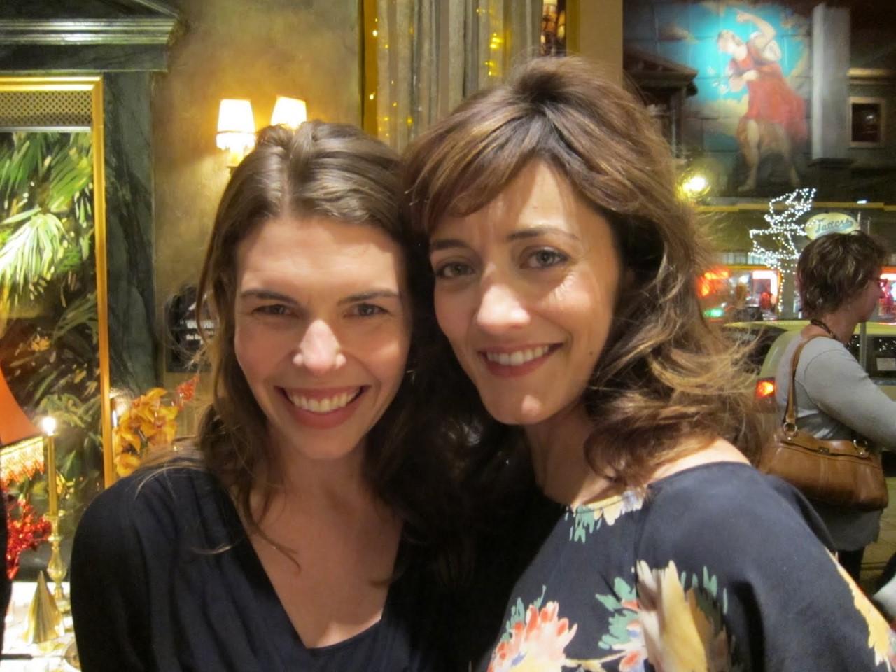 Sarah Rasmussen and Christina Baldwin