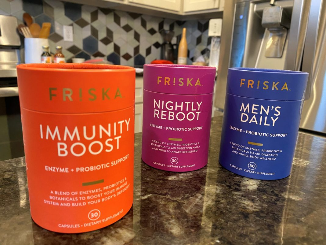 FRISKA dietary supplements tap into the power of enzymes and probiotics