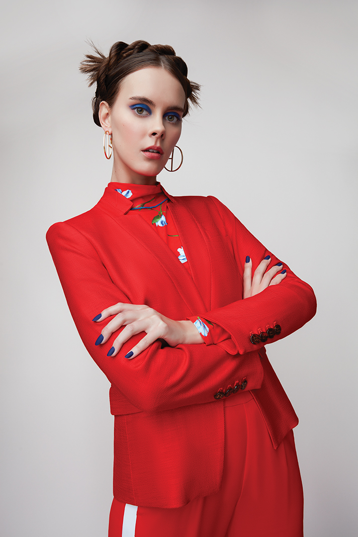 Model: Dana Johnson; Hair and Makeup: Fatima Olive