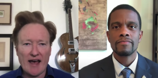 Melvin Carter and Conan O'Brien talk about public safety in virtual interview