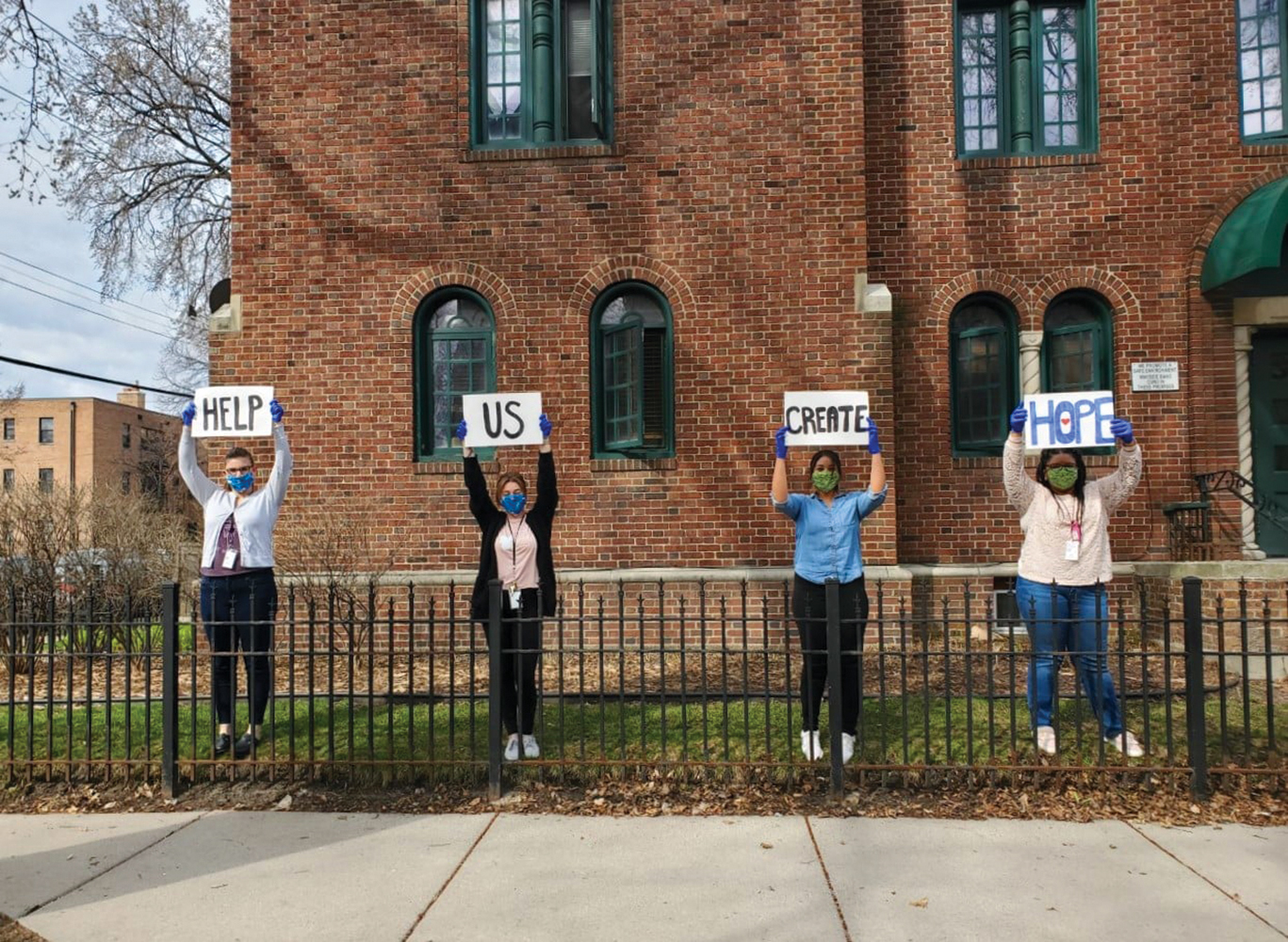 Staff at the Family Treatment Center share signs of hope