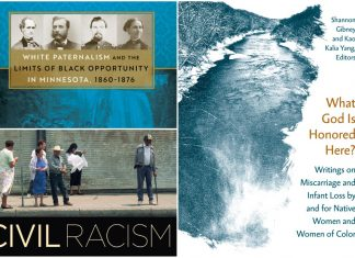 Three of the book titles available by the University of Minnesota Press through Aug. 31.
