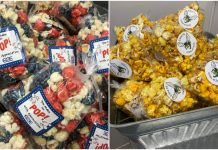 PoppedCorn offers popcorn bags for events such as weddings and graduations