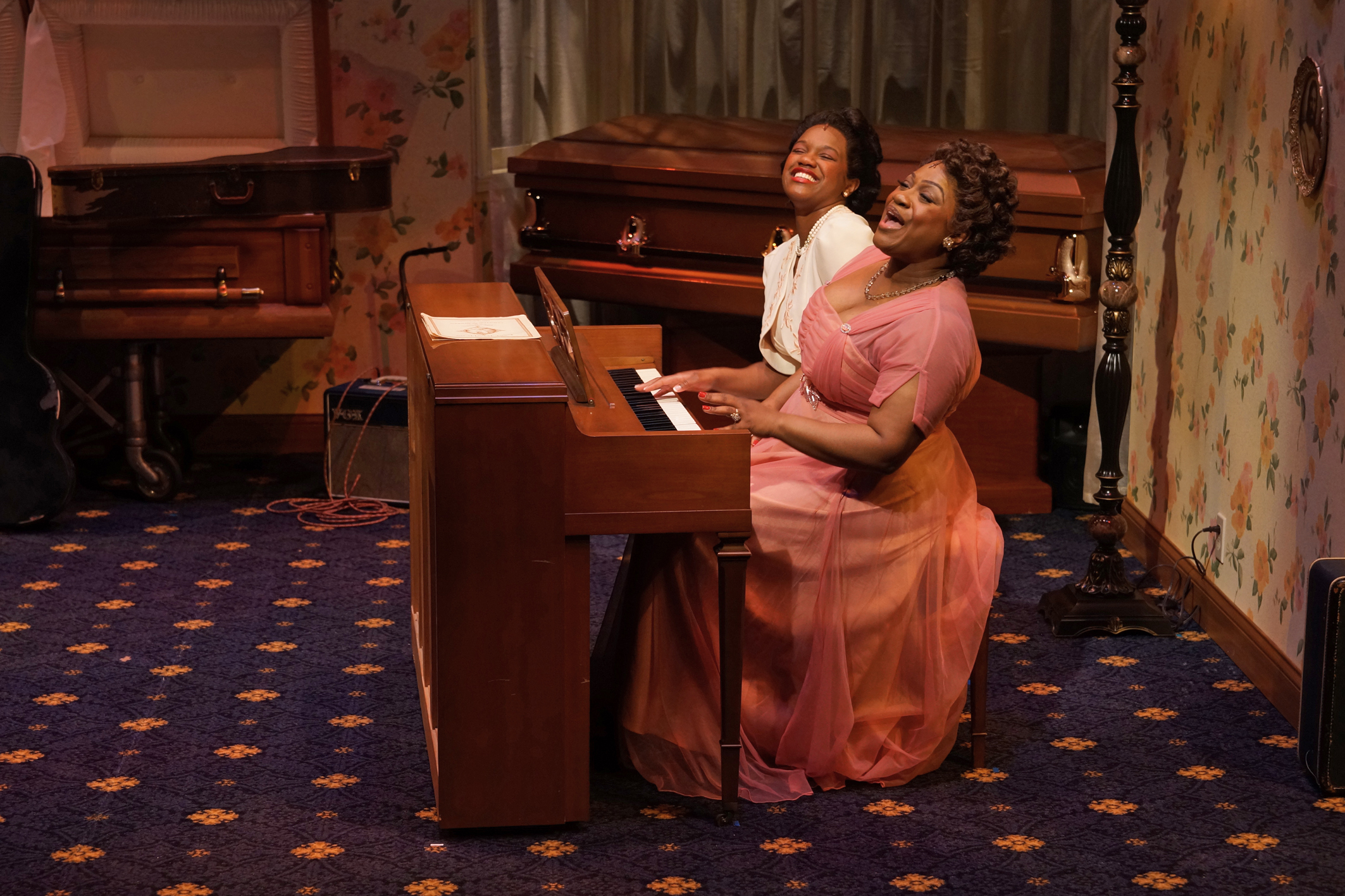 """""""Marie and Rosetta,"""" starring Jamaica Bennett and Rajane Katurah Brown, was the last main stage production at Park Square Theatre before the COVID-19 pandemic hit."""