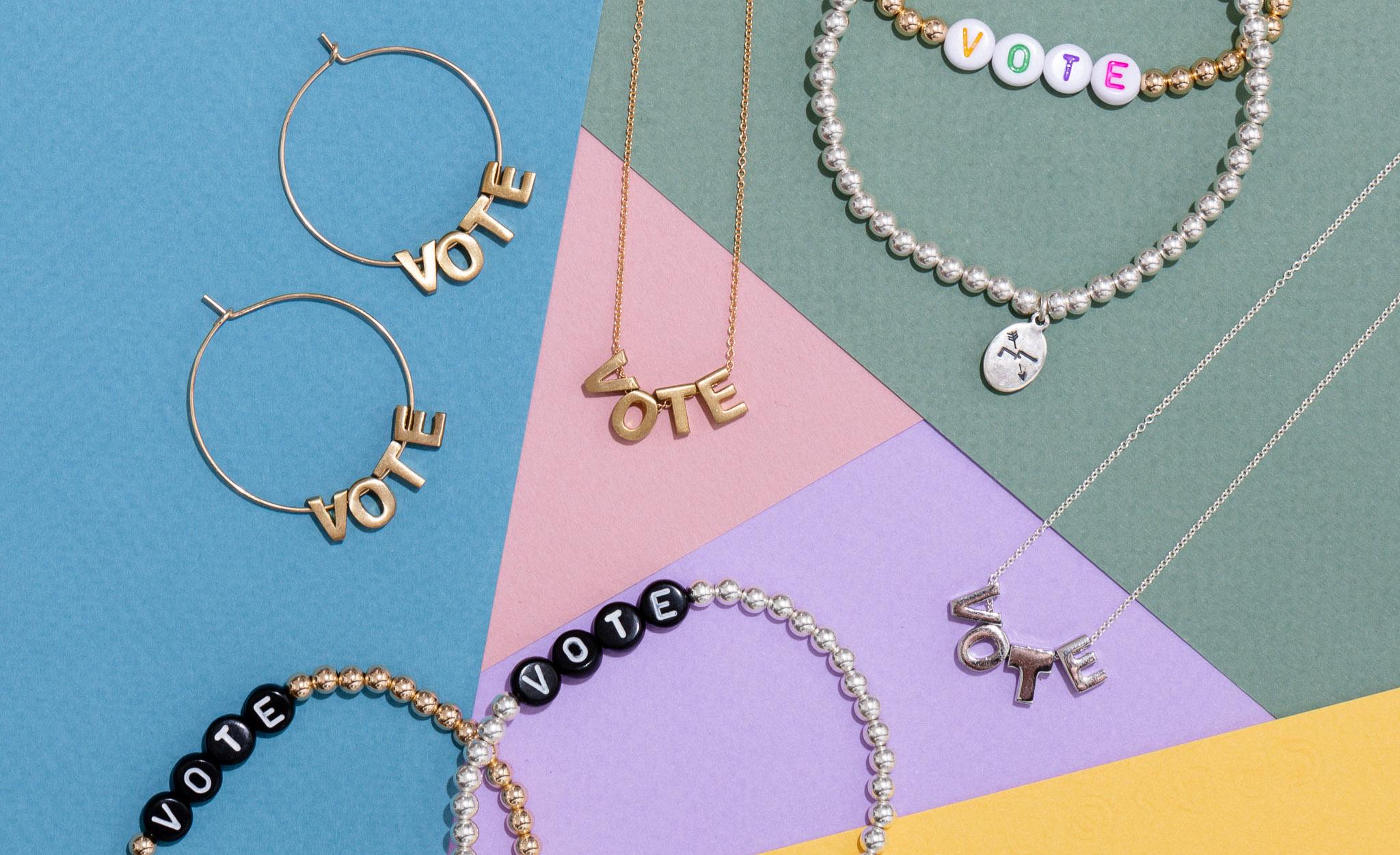Larissa Loden's new mini collection, VOTE