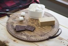 S'mores a Crowd tray by Timbr