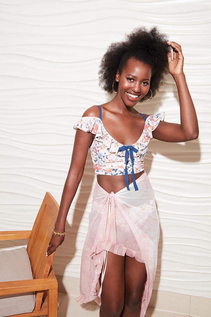 Edina Fashion 2020 Models - Jeilah (@jeilahofficial, jeilah.com), Dell Johnson (@dellmario_, Moore Creative Talent); Hair & Makeup - Andrea Holton