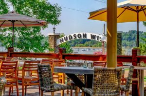 Pier 500 in Hudson overlooking the St. Croix River