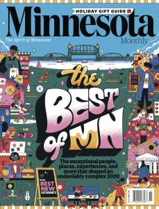 Minnesota Monthly Nov/Dec 2020 Cover