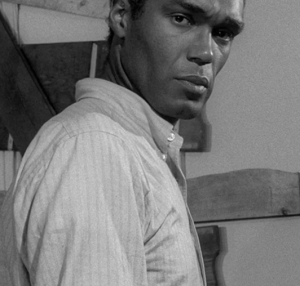 Actor Duane Jones, the star of a Trylon Cinema double feature