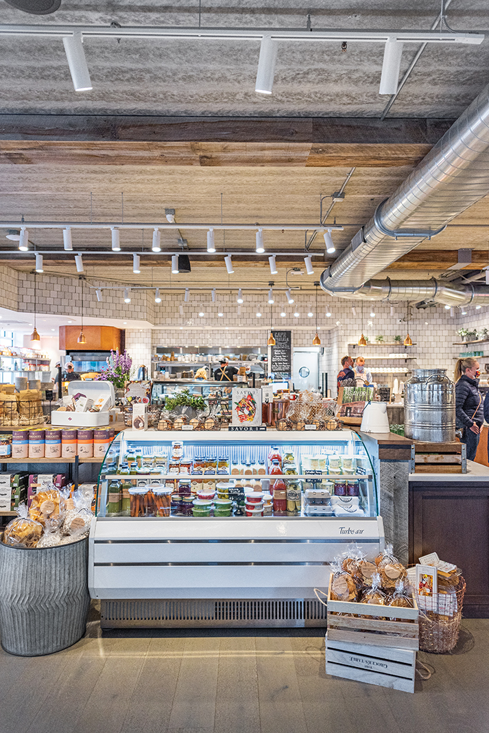 The grab-and-go market portion of Wayzata's new restaurant-café-bakery, the Grocer's Table