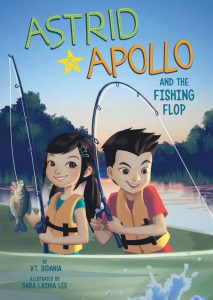 "V.T. Bidania's ""Astrid & Apollo and the Fishing Flop,"" released by Capstone Publishers"