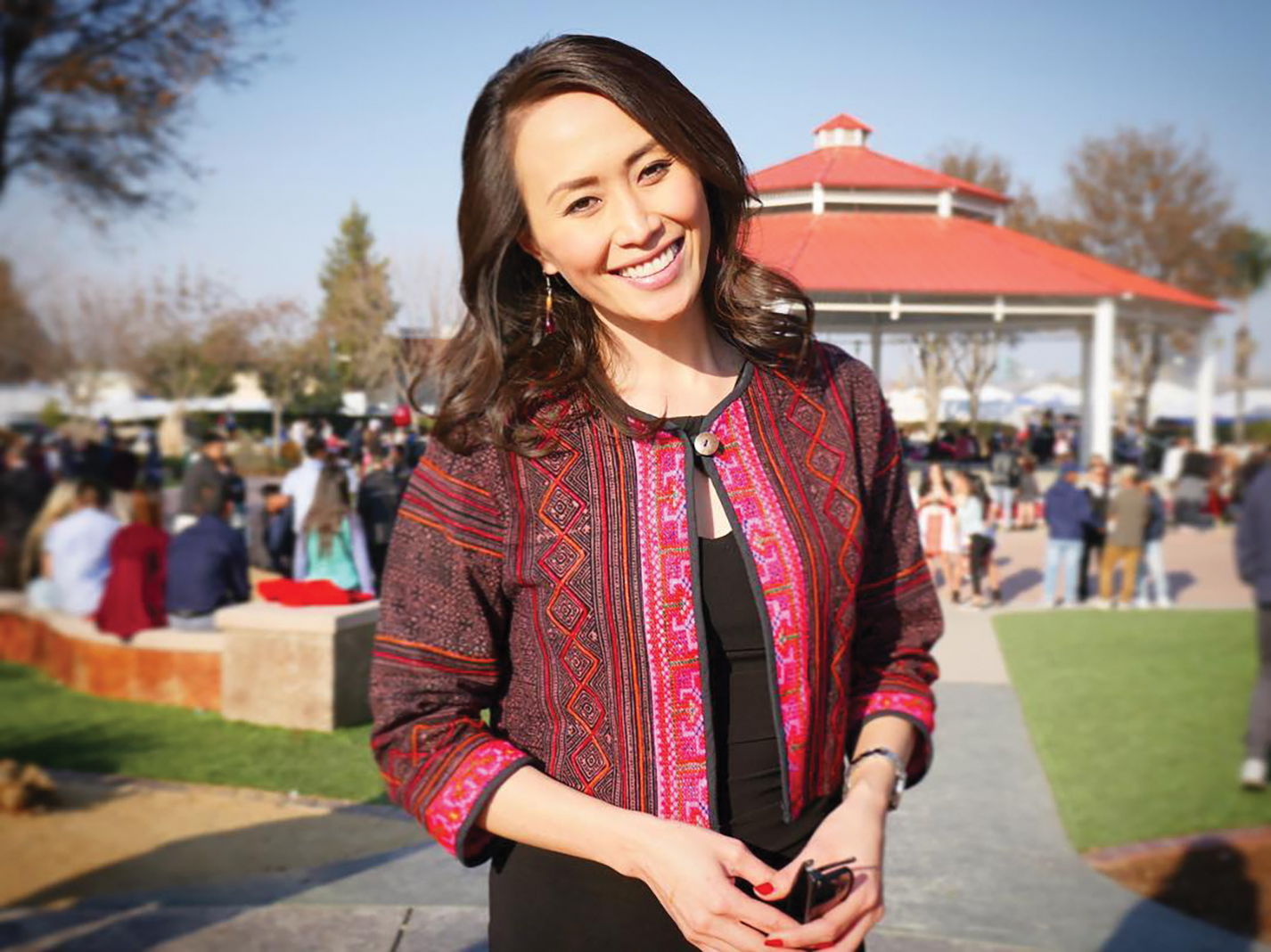 KARE 11 news anchor Gia Vang grew up celebrating Hmong New Year in California