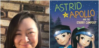 """V.T. Bidania is the author the """"Astrid & Apollo"""" chapter-book series for ages 6-8"""