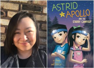 "V.T. Bidania is the author the ""Astrid & Apollo"" chapter-book series for ages 6-8"