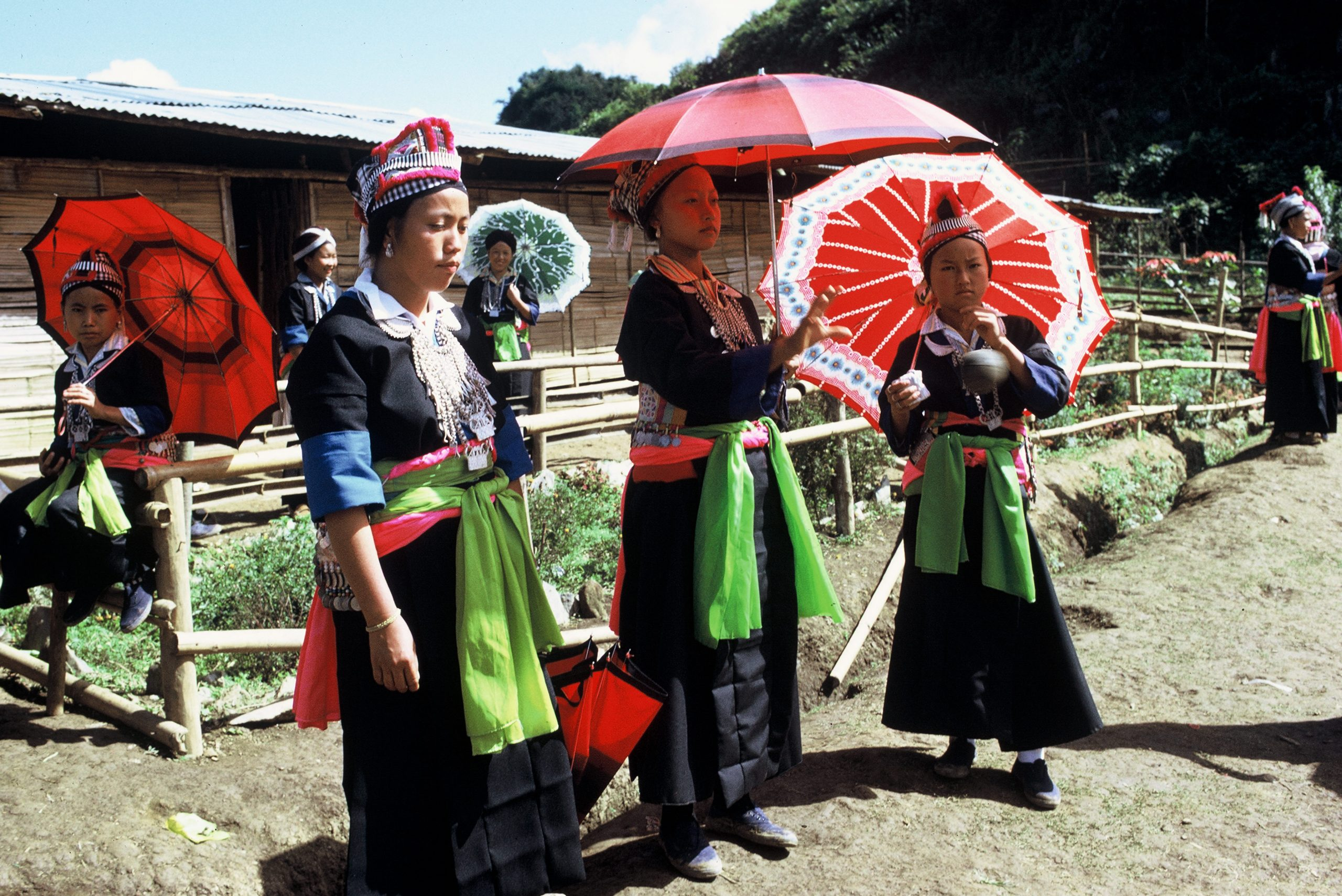 A Hmong New Year celebration in Laos