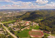 Winona Campus Aerials taken August 2019.