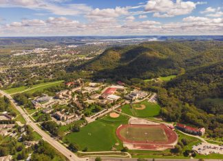 Winona Campus Aerials taken August 2019.
