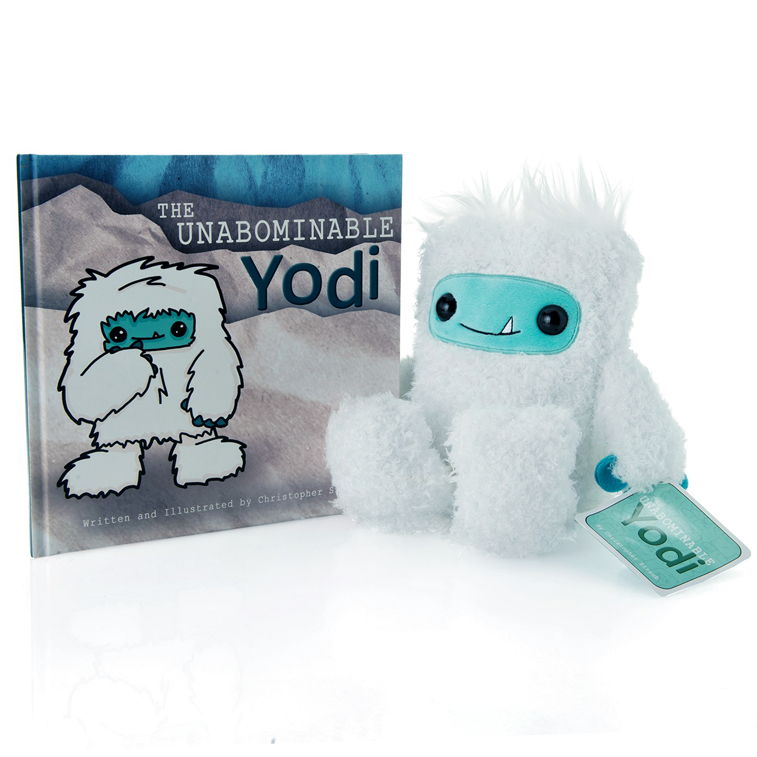"The Yodi Bundle: ""The Unabominable Yodi"" book and 8-inch plush toy"