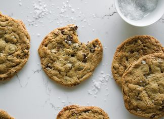 Chocolate Chip Sea Salt Marshmallow Cookie at World Street Kitchen