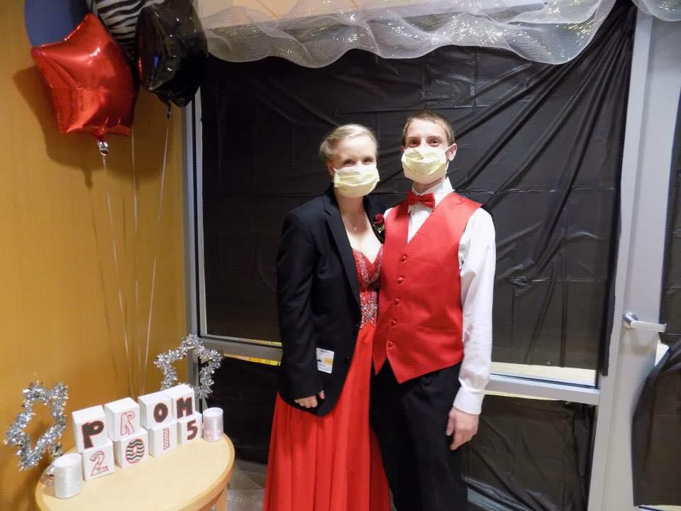My senior prom at the hospital