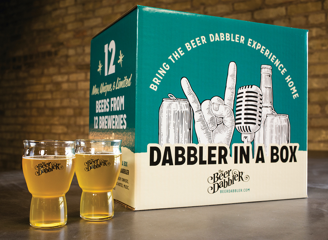 The Beer Dabbler's box series appears at Surdyk's