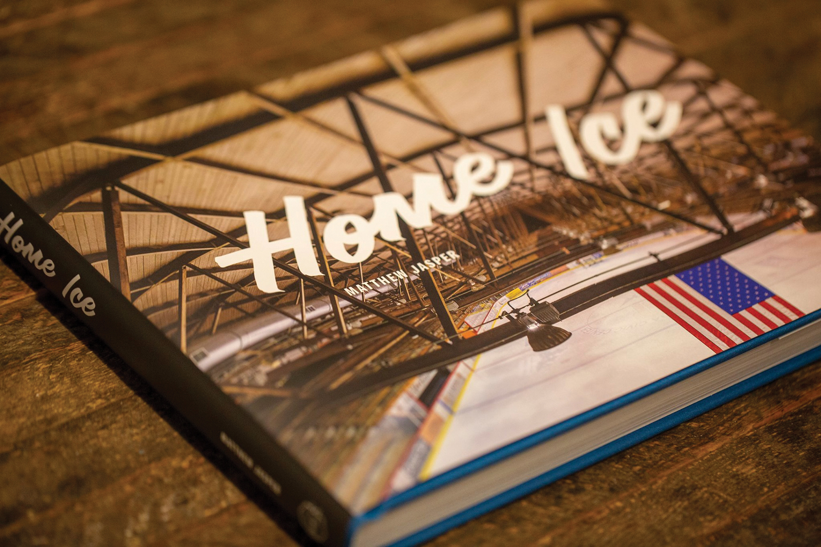 """Home Ice"" compiles photos of 72 rinks"