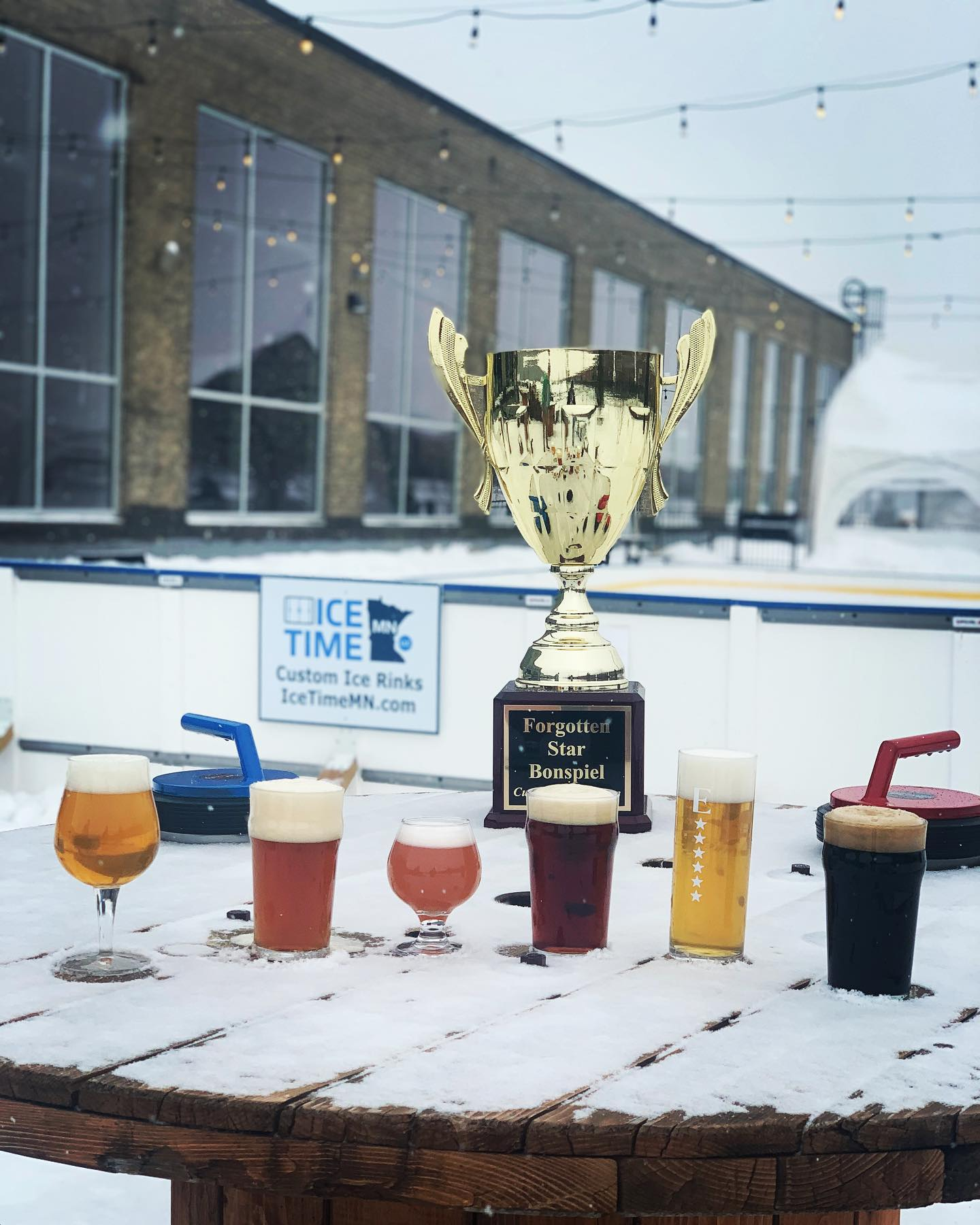Forgotten Star Brewing is hosting a weekend of curling and beer