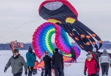 Kites on Ice Festival