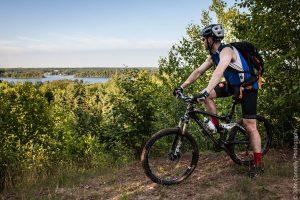 Biking in Grand Rapids, Minnesota