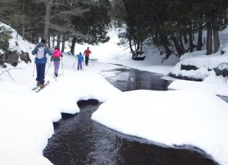 Writer Christoper Pascone and his family explore the north shore backcountry
