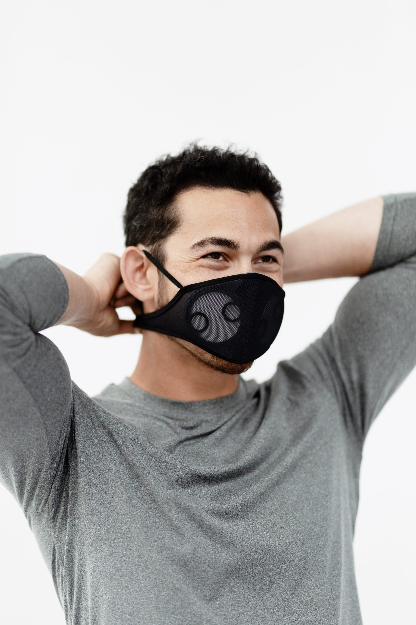 Breathe99's B2 mask fits comfortably while offering industrial-grade air filtration