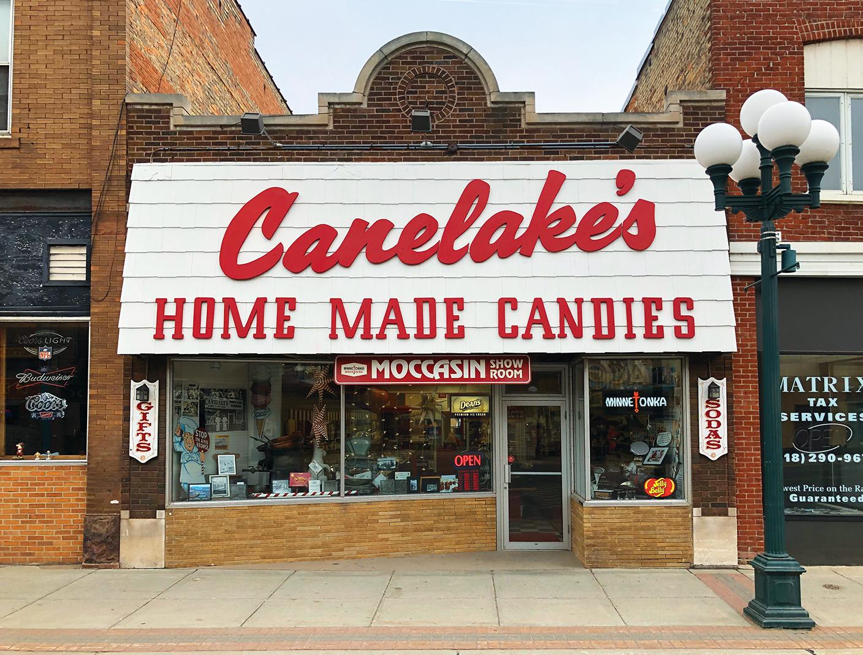 Canelake's Candies in Virginia, Minnesota