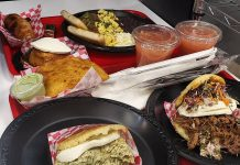 Selections from Arepa Bar