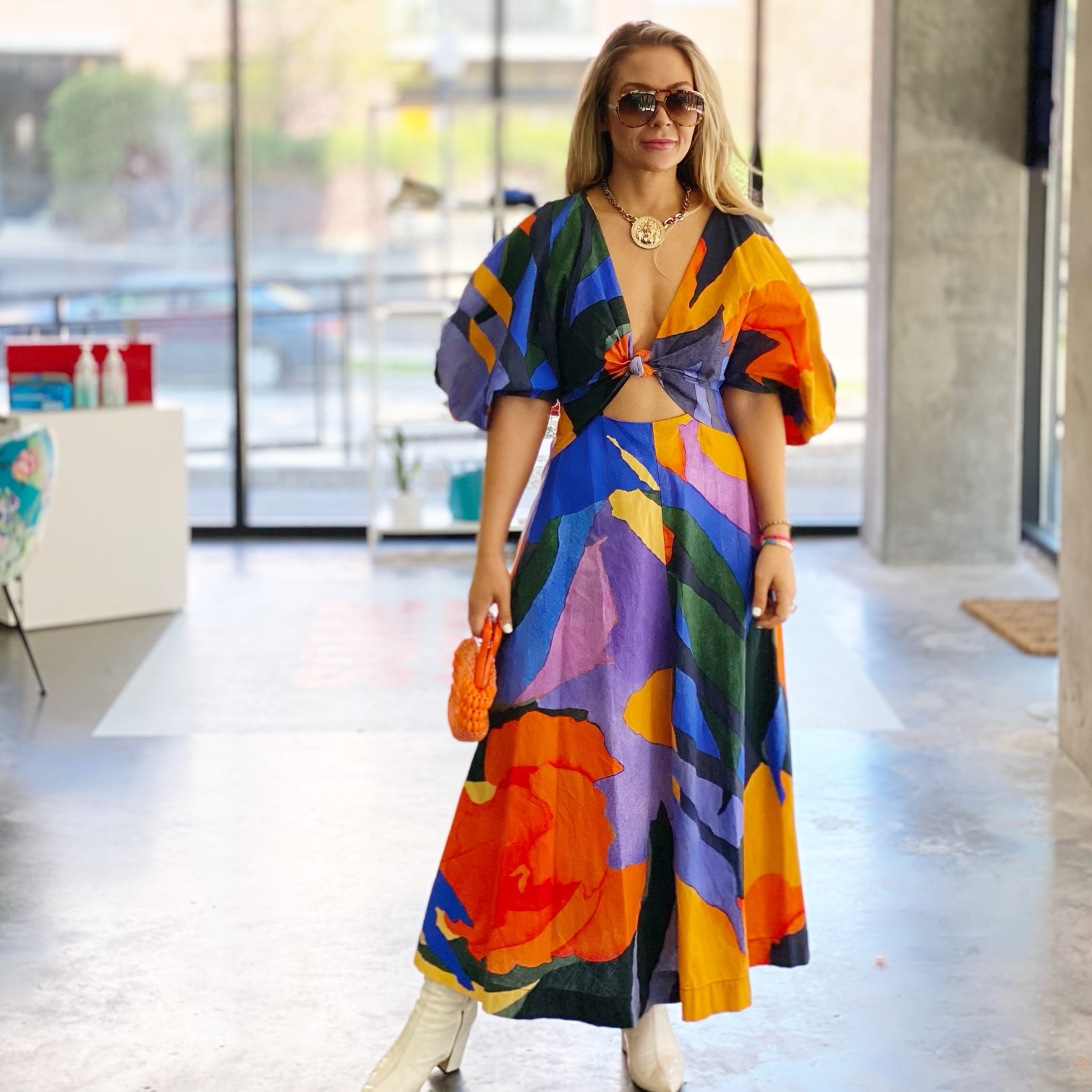 """""""I've kind of always had pretty loud style, but I think I'm leaning into that even more,"""" says Fashion Week MN CEO Sarah Edwards."""