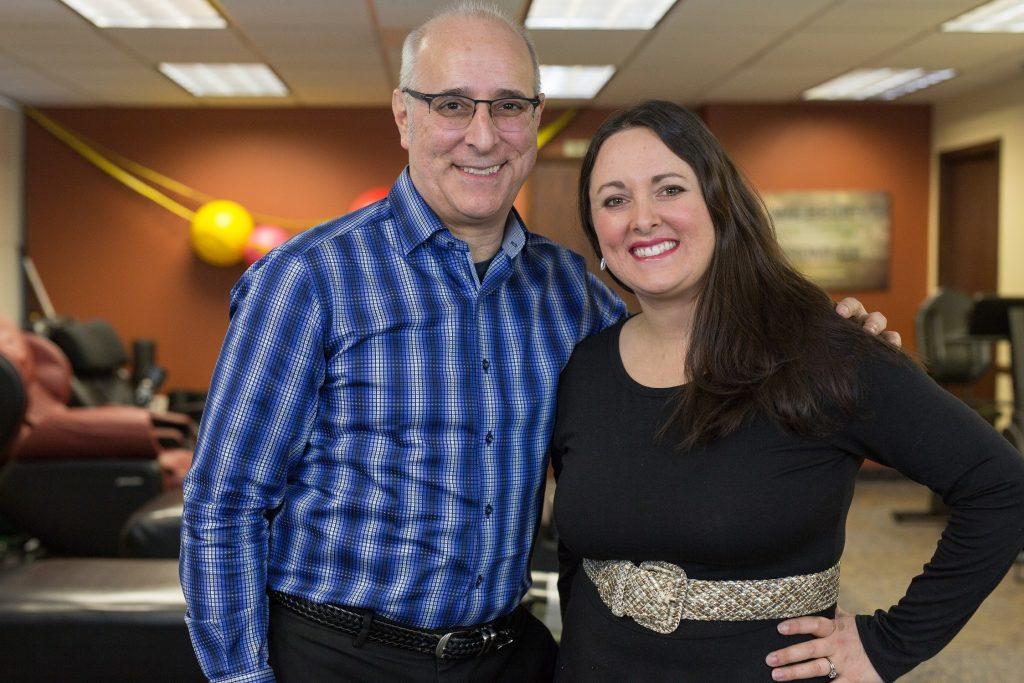 Dr. Lieberman and Krystle Lieberman Wall