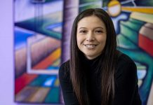Kayana Trottier will soon be a doctor of physical therapy