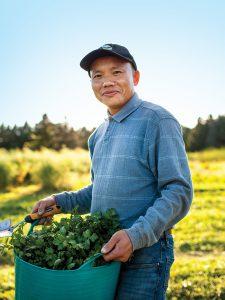 Big River Farms partner Wa Kou Hang of Twin