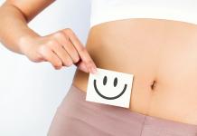 A woman's stomach