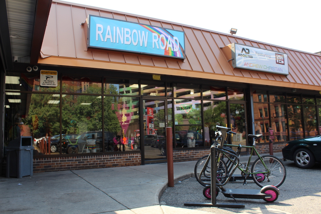 Rainbow Road in Loring Park has served as a gay haven for a quarter of a century