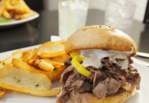 The Clover Roast Beef with horseradish